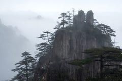 Mountain Huangshan scenery. Royalty Free Stock Image