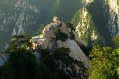 Mountain Huashan Chess Pavilion Royalty Free Stock Images
