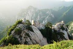 Mountain Huashan Chess Pavilion Royalty Free Stock Image