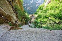 Mountain huashan Royalty Free Stock Photo