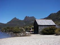 Mountain Hut Stock Image