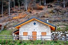 Mountain hut Royalty Free Stock Photography