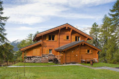 Mountain hut Stock Photos