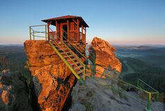 Mountain hut - Czech rebublic Stock Photos