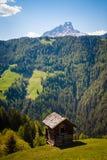 Mountain hut Royalty Free Stock Image