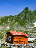 Mountain Hut In Carpathians Royalty Free Stock Images