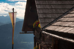 Mountain hut Lammersdorfer Austria Carinthia Royalty Free Stock Photography
