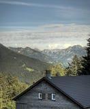 Mountain hut Royalty Free Stock Photos