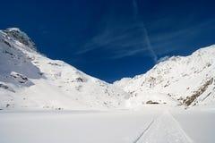 Winter Mountain Valley, Austria Royalty Free Stock Photo