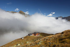 Mountain hut Royalty Free Stock Photo
