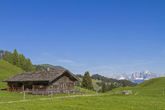 Mountain hut in Tyrol Stock Images