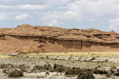 Mountain Huts in Utah. Unusual mounds in Utah resembling huts Royalty Free Stock Photography