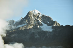 Mountain With Ice Royalty Free Stock Photo