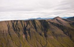Mountain in Iceland Royalty Free Stock Photo