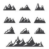 Mountain  icon Royalty Free Stock Images