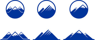 Free Mountain Icons Stock Images - 12648264