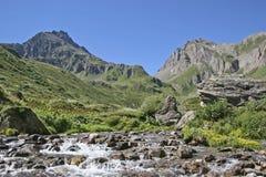 Mountain idyll in the Formazza valley Royalty Free Stock Photo