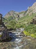 Mountain idyll in the Formazza valley Stock Photography