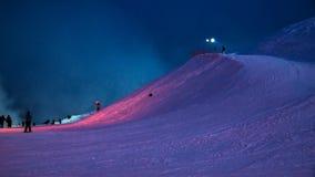 Mountain in Igora. In the winter Stock Photo