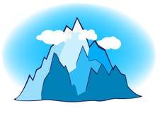 Mountain illustration Stock Image