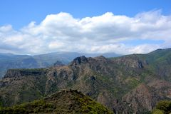 Mountain In Akhtala, Is A Town And Municipal Community In The Lori Province Of Armenia Royalty Free Stock Photography