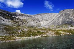The mountain Indivichvumchorr, Khibiny Stock Image