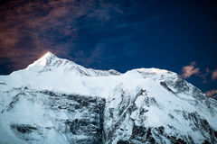 Mountain inspirational landscape, Annapurna range Nepal Stock Images
