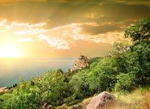 Mountain Iphigenia at dawn Royalty Free Stock Photo