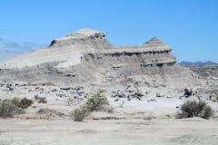 Mountain in Ischigualasto desert Royalty Free Stock Photo