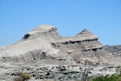 Mountain in Ischigualasto, Valle de la Luna Stock Images