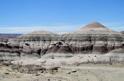 Mountain in Ischigualasto, Valle de la Luna Royalty Free Stock Photo
