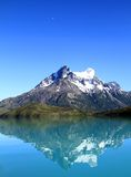 Mountain and Reflection Royalty Free Stock Photo