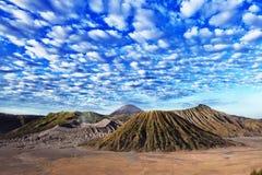 Mountain at Java Indonesia Stock Photo
