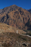 A mountain in Joshimath Stock Images