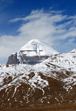 Mountain Kalaish. Kailash, the holiest mountain of Buddhism Royalty Free Stock Photography