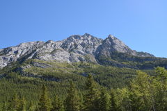Mountain in Kananaskis. Country in the Canadian Rocky Mountains, Alberta, Canada Royalty Free Stock Photo