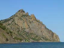 Karadag Nature Reserve in Crimea stock photography