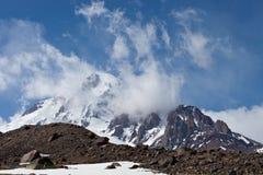 Mountain Kazbek Royalty Free Stock Photography