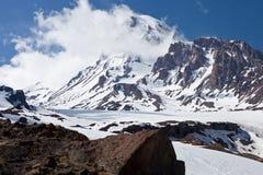 Mountain Kazbek Stock Photo