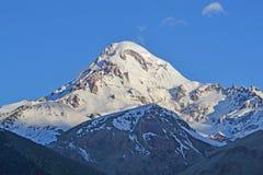 Mountain Kazbek, Georgia Royalty Free Stock Photography