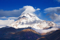 Mountain Kazbek Royalty Free Stock Photos