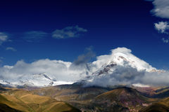 Mountain Kazbek Royalty Free Stock Images