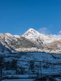 Mountain Kazbek Stock Image