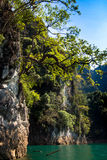 Mountain at Khao-sok Suratthani, Thailand Stock Photo