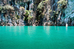 Mountain at Khao-sok Suratthani, Thailand Stock Photography