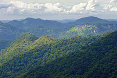 Mountain Khao Yai Royalty Free Stock Photography