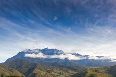 Mountain kinabalu Royalty Free Stock Images