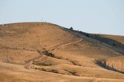 Mountain in Koktebel in the Crimea Stock Photo