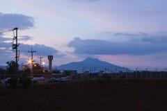 Mountain at krabi aiport Royalty Free Stock Image