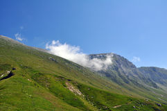 Mountain Krn in the Julian Alps Stock Photography